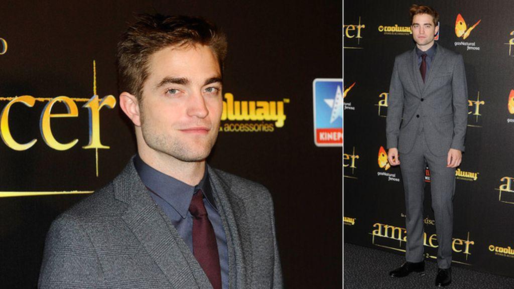 Robert Pattinson apareció tan elegante como un dandy inglés
