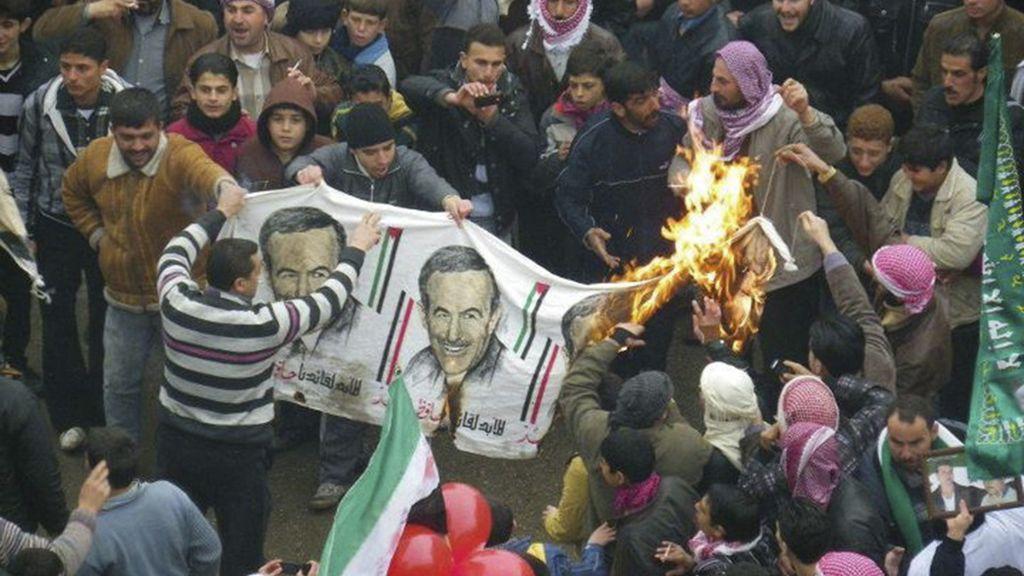 Represión Siria