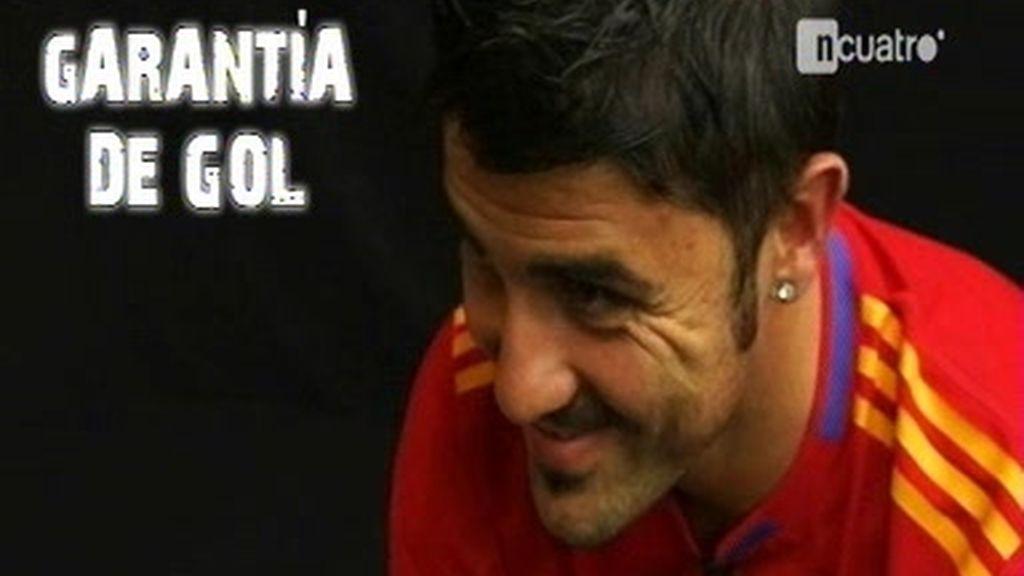 David Villa, garantía de gol