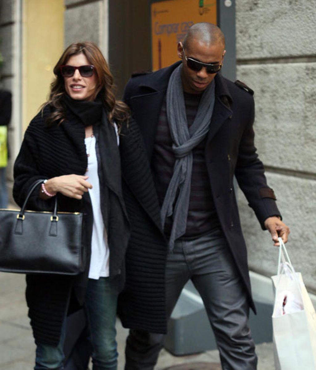 El amigo especial que sustituye a George Clooney en la vida de Elisabetta Canalis