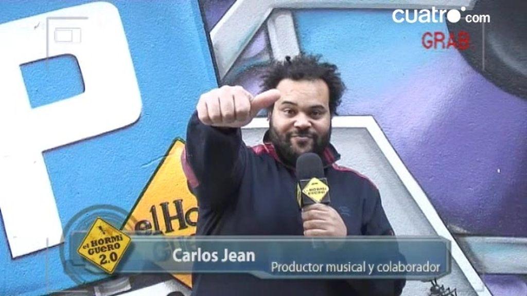 EXCLUSIVA: Carlos Jean se presenta en la web