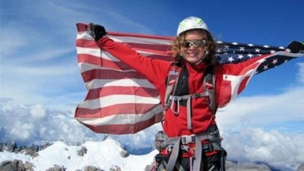 Jordan Romero es, con quince años el escalador más joven