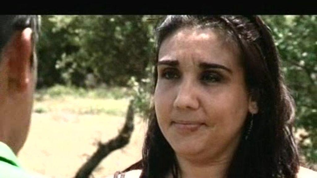 Sonia, una de las candidatas de Jesús, despechada