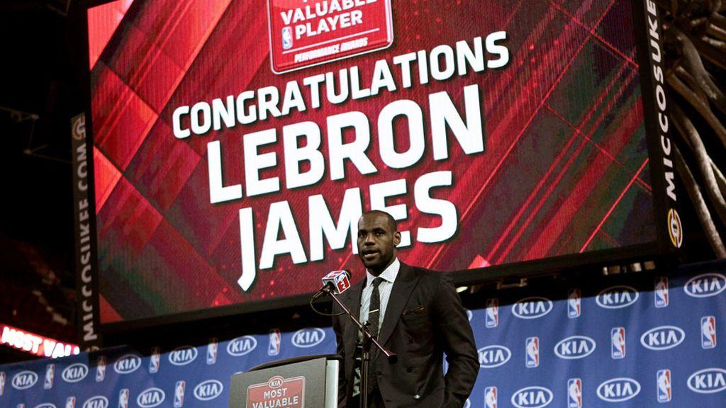 LeBron James es el baloncestista que más gana en el mundo. Tercero en la lista con 72,3 millones
