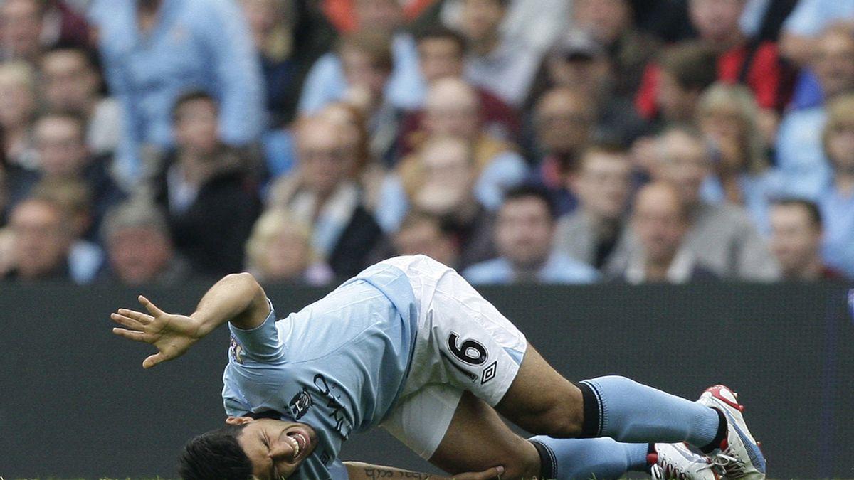 Kun Aguero, Manchester City, Europa League
