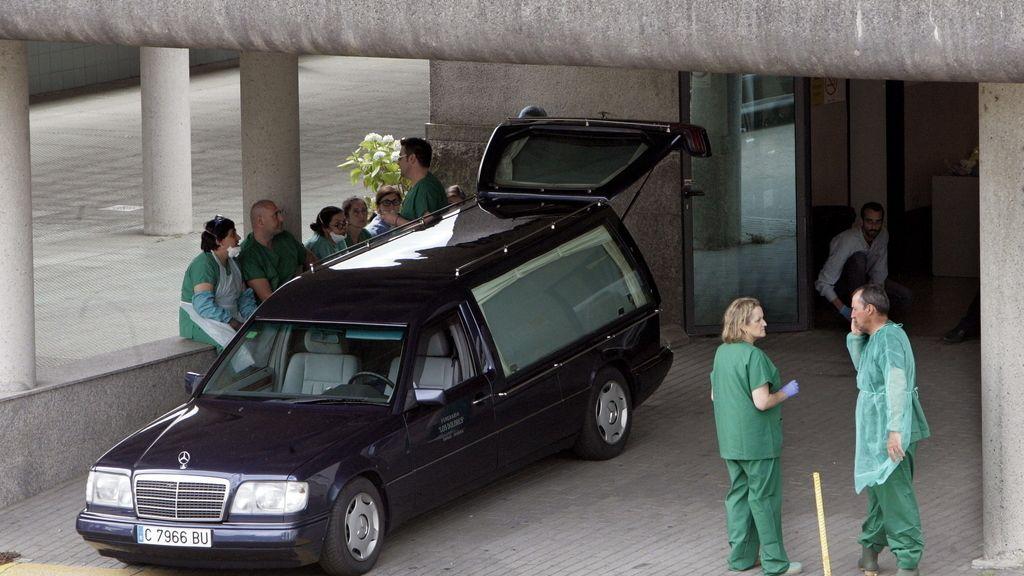 Tragedia en Santiago. Foto: EFE
