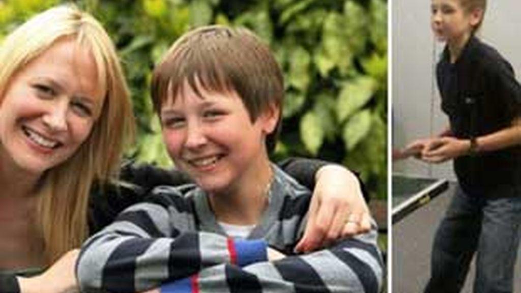 Taylor Kerkham, de sólo 11 años, se quedo al borde de la muerte por culpa de la anorexia. FOTO: Daily Mail