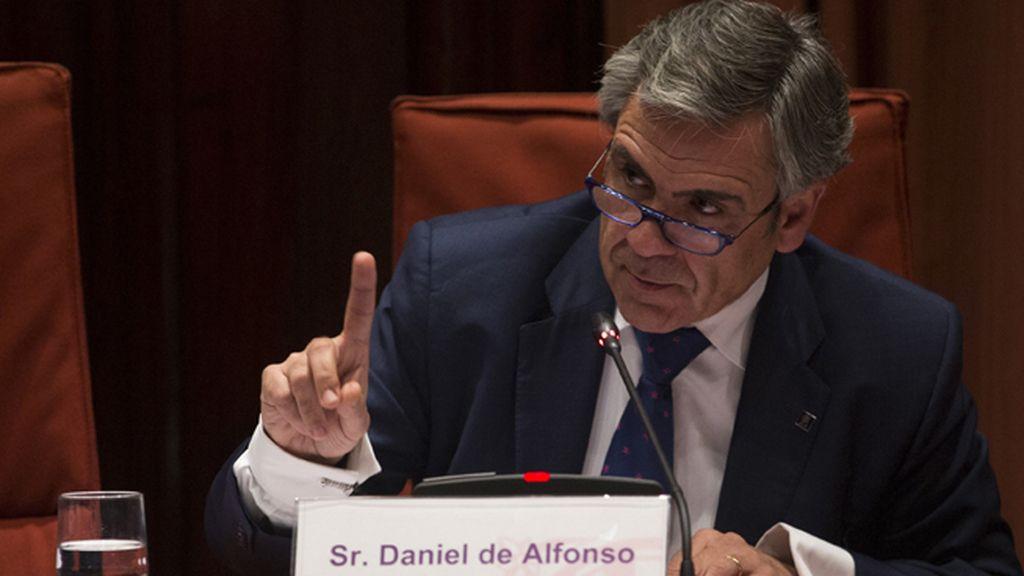Daniel de Alfonso comparece ante el Parlamento de Cataluña