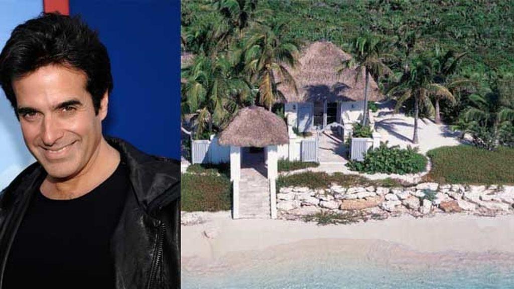 David Copperfield poseé el Musha Cay en las Bahamas