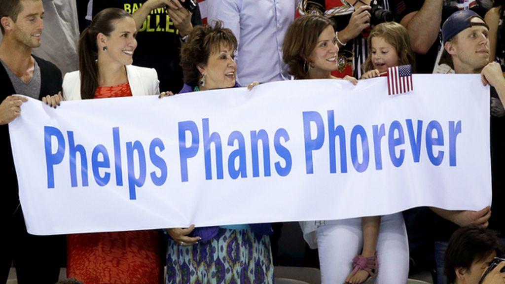 Phelps, del agua al Olimpo