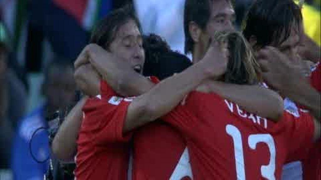 Grupo F: Eslovaquia 0 - 2 Paraguay