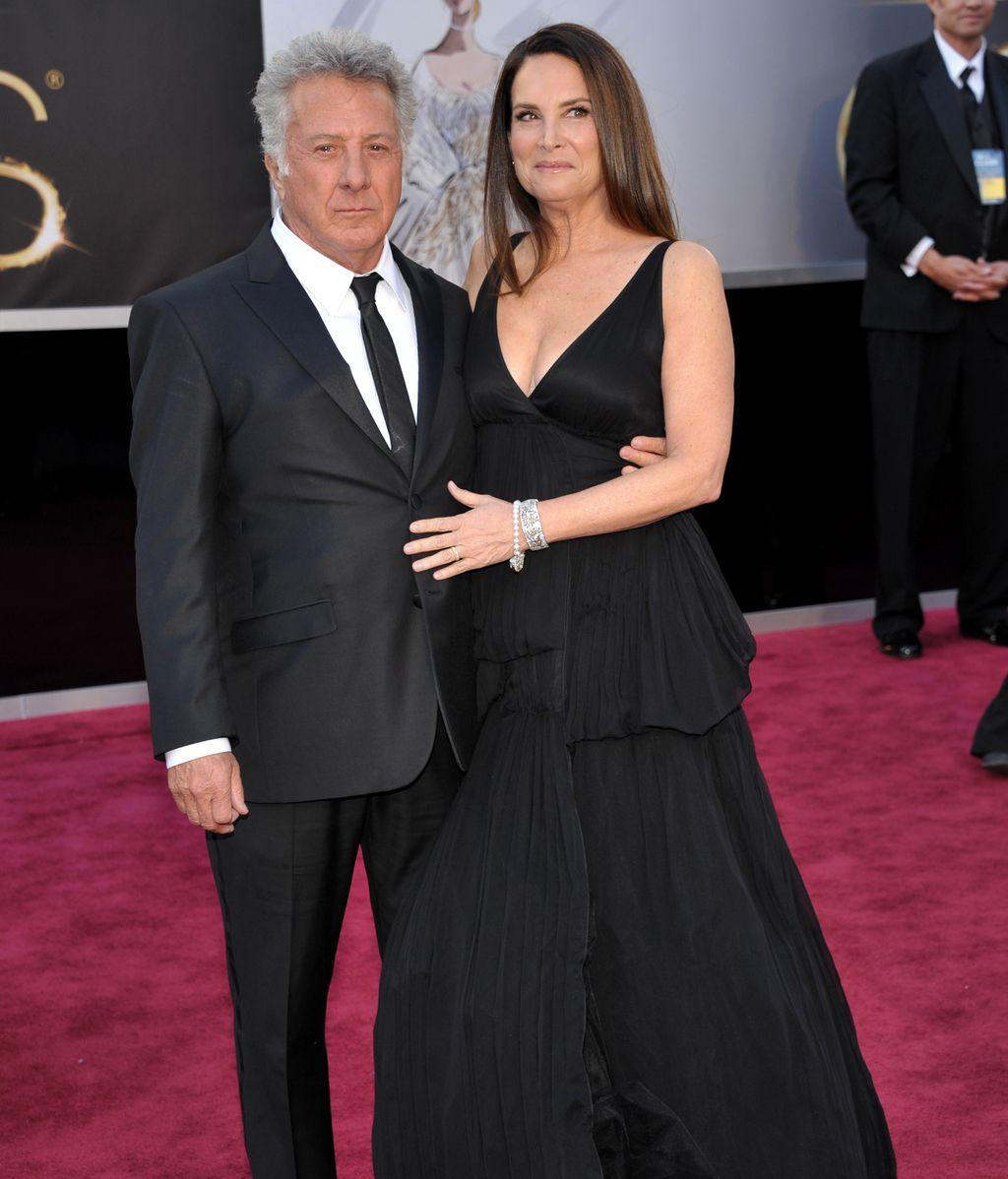 Dustin Hoffman, en la alfombra