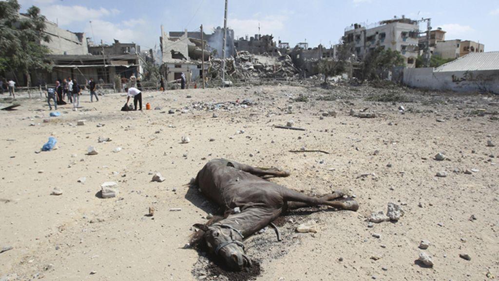 Israel acepta la ampliación durante otras cuatro horas del alto el fuego en Gaza