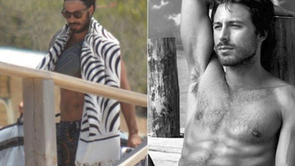 Hugo Silva, el naufrago surfero