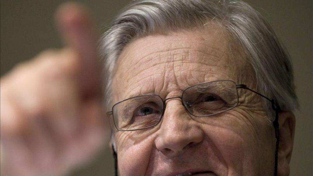 El presidente del Banco Central Europeo (BCE), Jean Claude Trichet. EFE/Archivo