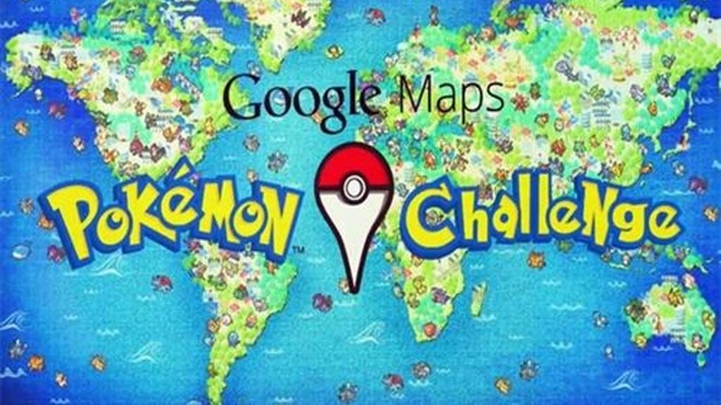 El Pokemon's Challenge de Google en el April Fool's Day