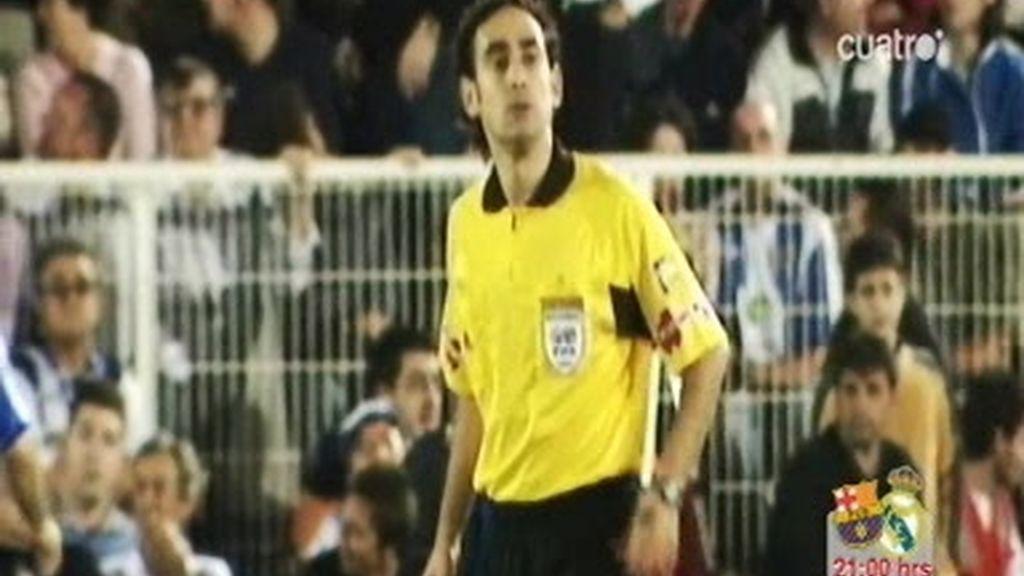 Iturralde, el árbitro del clásico