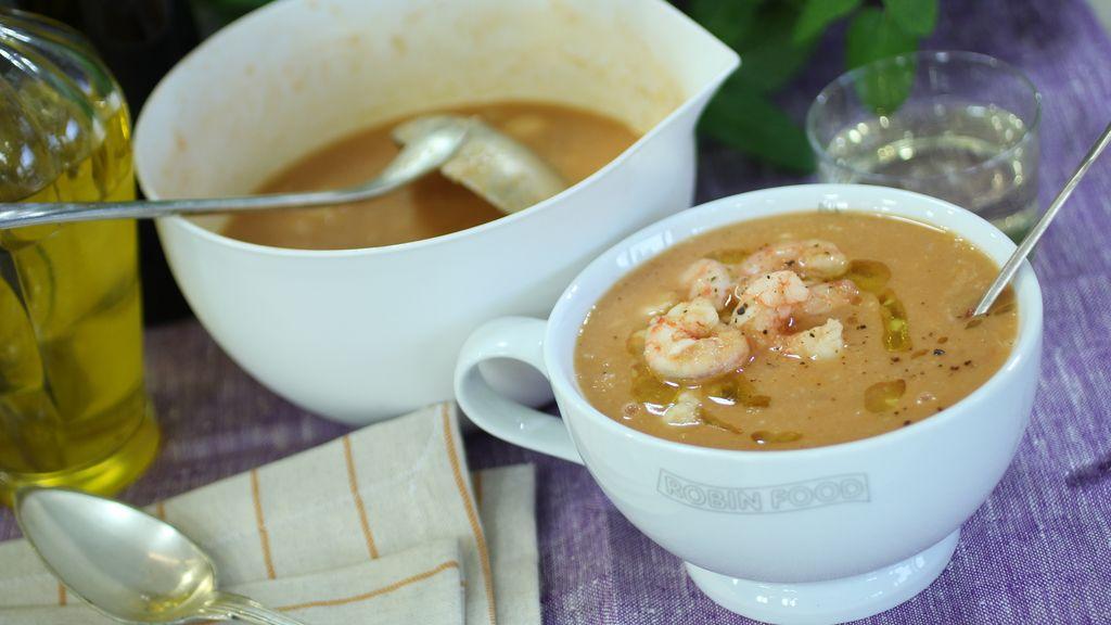 Sopa de pescado 'Ángel Nieto'