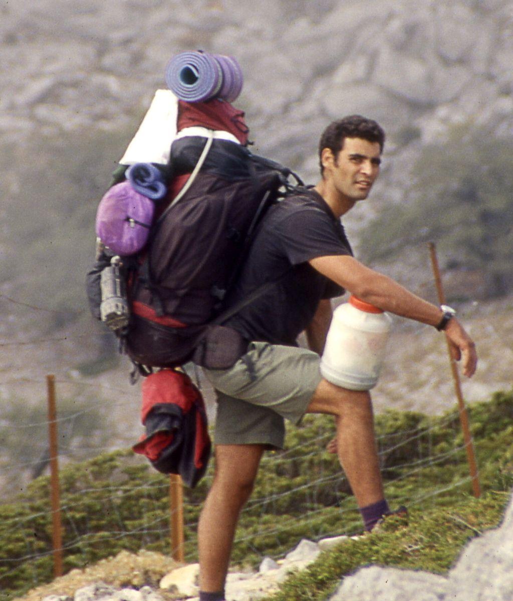 Gustavo Virués, uno de los dos montañeros fallecidos en Marruecos