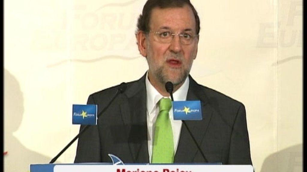 """Rajoy acusa al Gobierno de """"autoritario"""" por vetar el debate sobre las pensiones"""