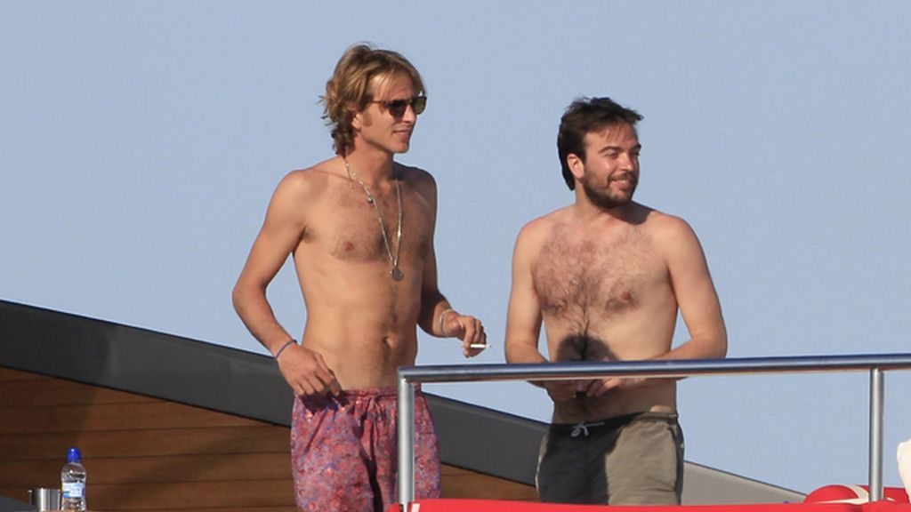 Andrea Casiraghi inaugura el verano de Ibiza