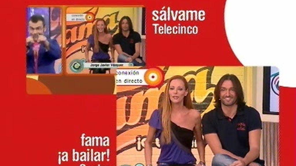 Fama ¡a bailar! de Cuatro y Sálvame de Tele 5, unidos por los Ondas