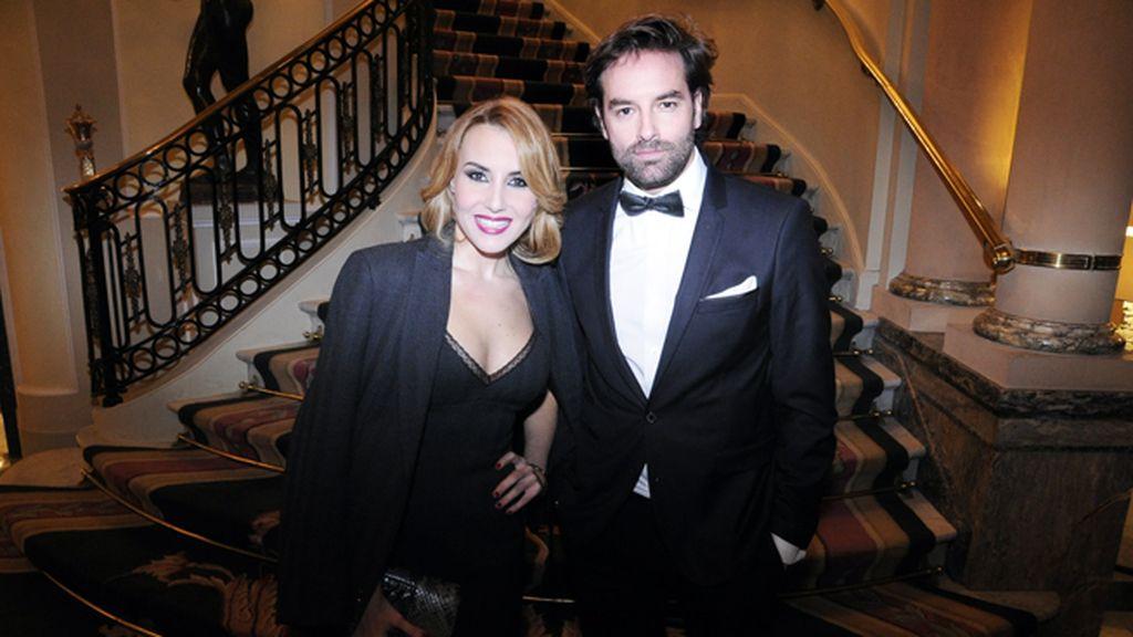 Berta Collado y José Ramón Cisneros