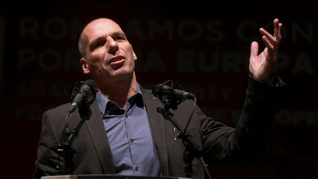 Yanis Varoufakis visita España