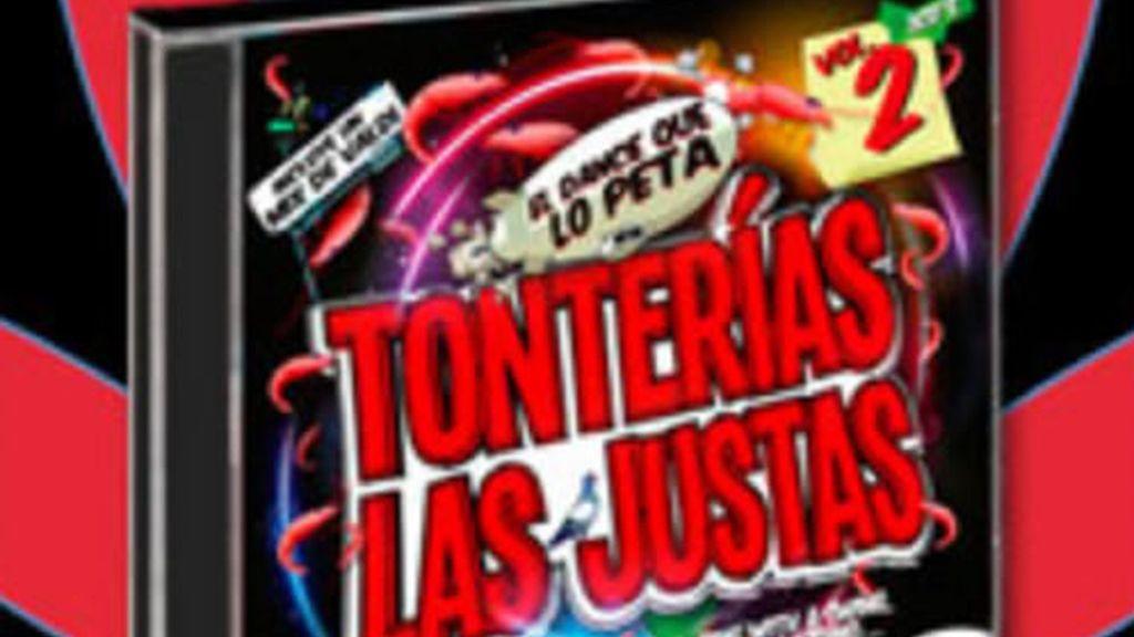 Triple cd de Tonterías las justas
