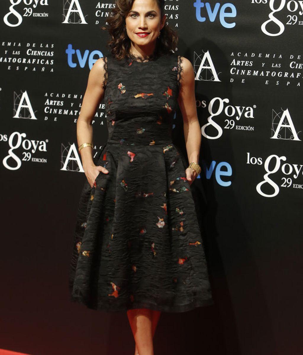 Toni Acosta fue la presentadora de la gala