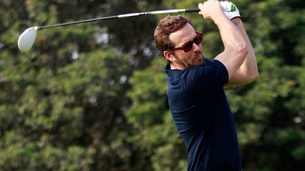 El marido de Blake Lively no pierde ocasión para hacer deporte