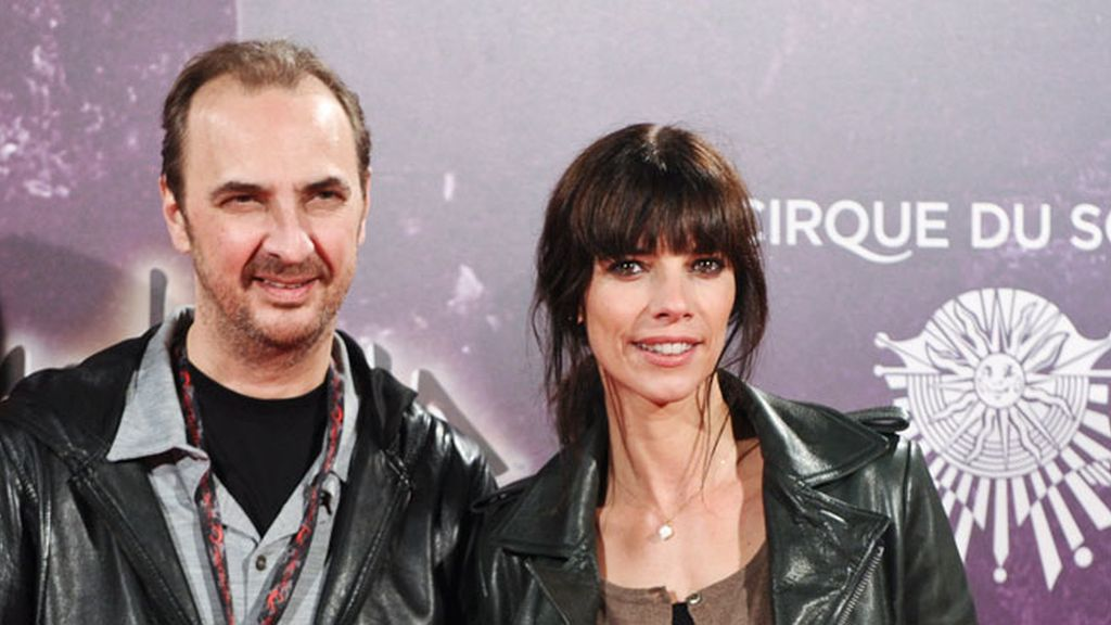 Pedro Larrañaga y su mujer, Maribel Verdú