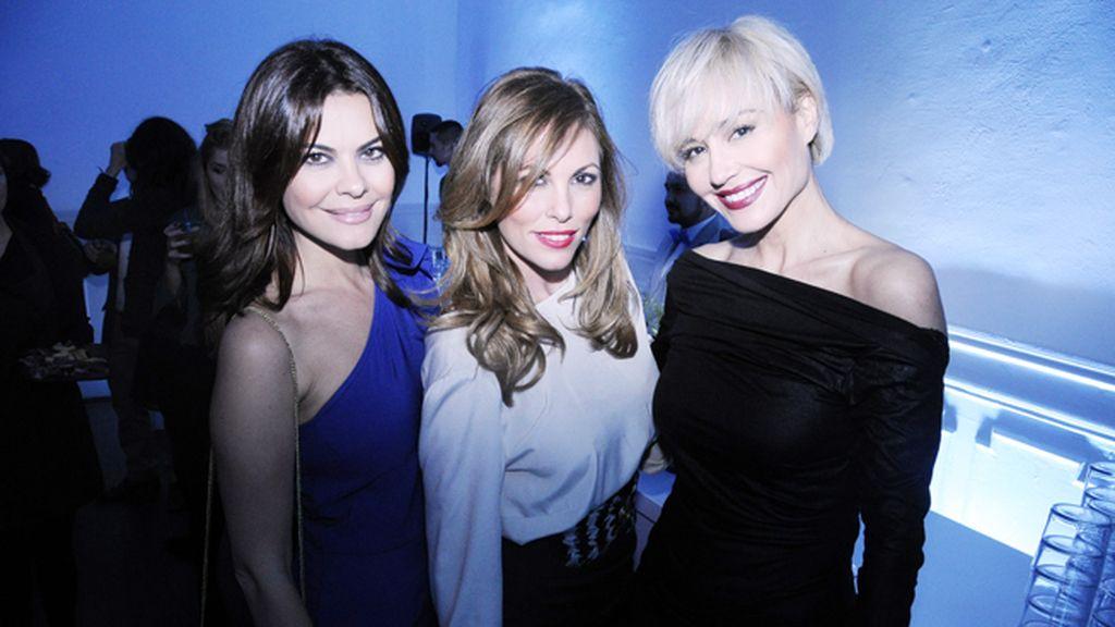 Tres bellezas para la Noche Azul: María José Suárez, Raquel Rodríguez y Juncal Rivero