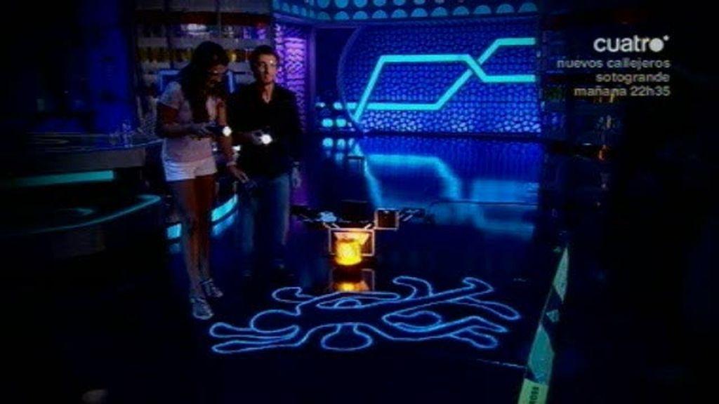 Pablo Motos y Lorena Bernal en un caso de CSI