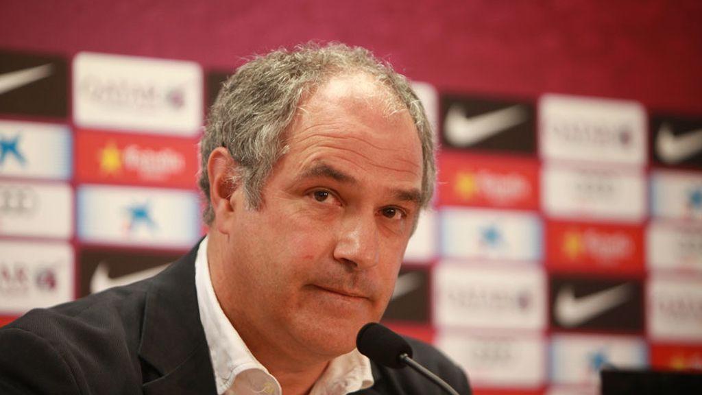 Zubizarreta, destituido como director deportivo del Barcelona
