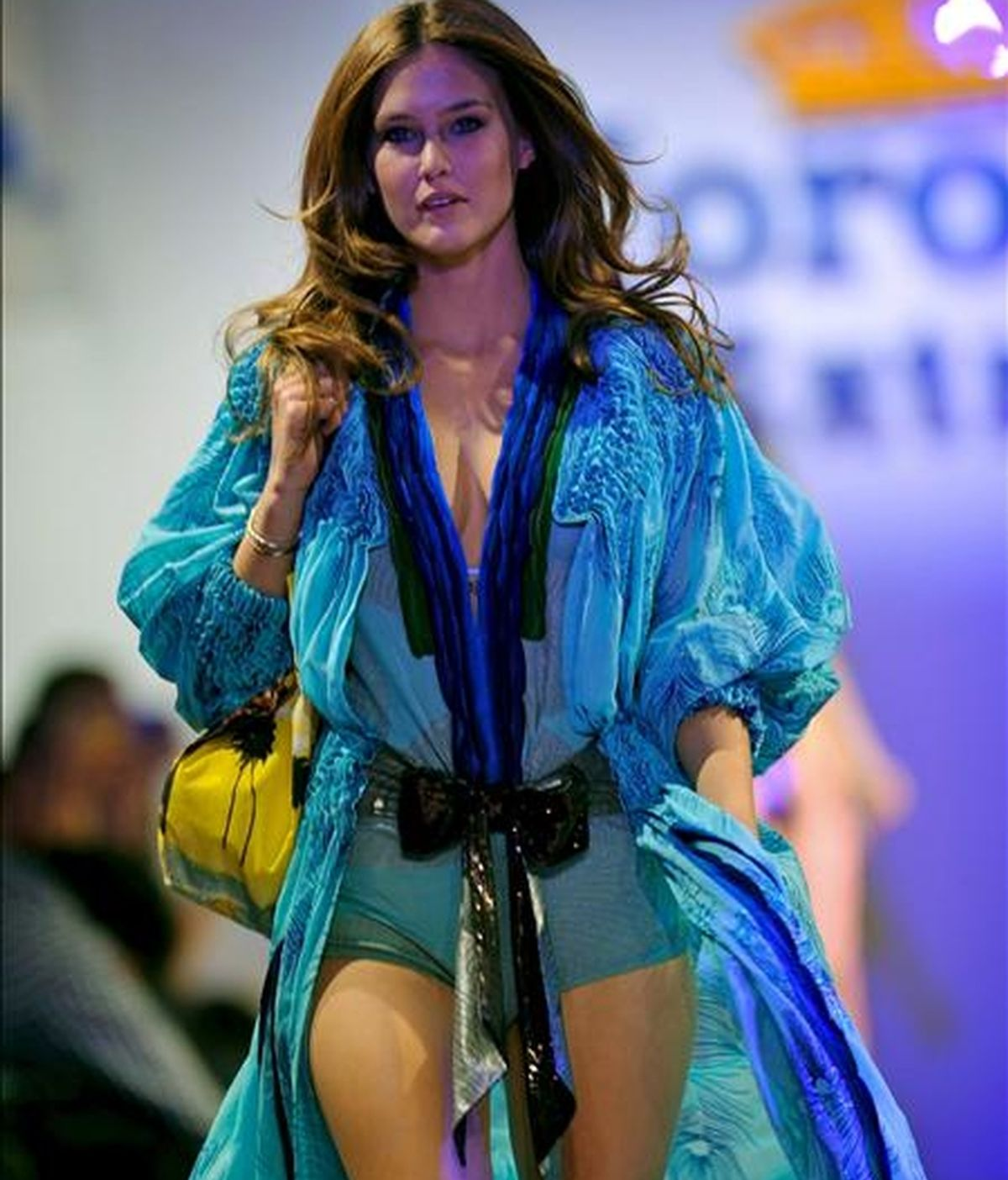 La modelo israelí Bar Refaeli es una de las mejor pagadas de la industria de la moda. Foto The huffingtonpost.com