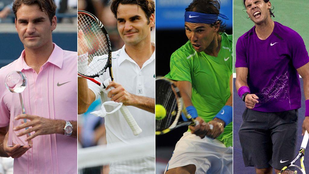 Nadal o Federer ¿quién tiene más estilo?