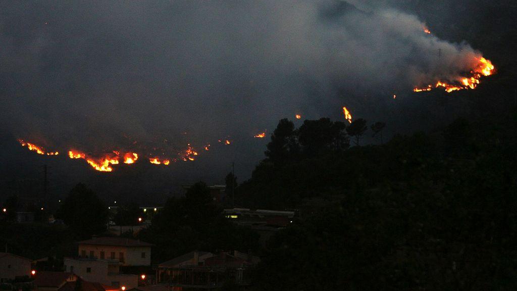Las llamas han arrasado más de 400 hectáreas
