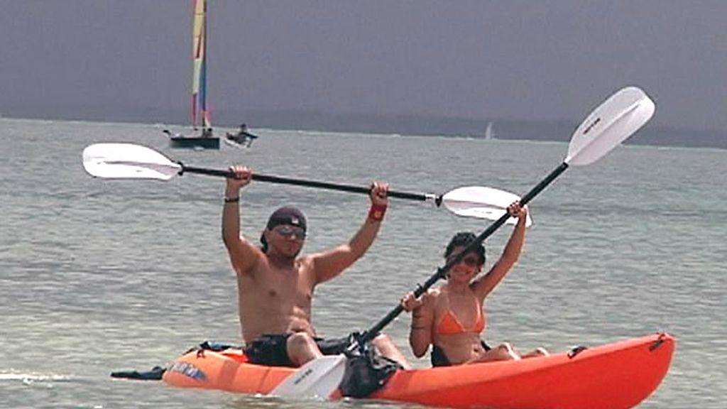 Paseo en kayak en Florida