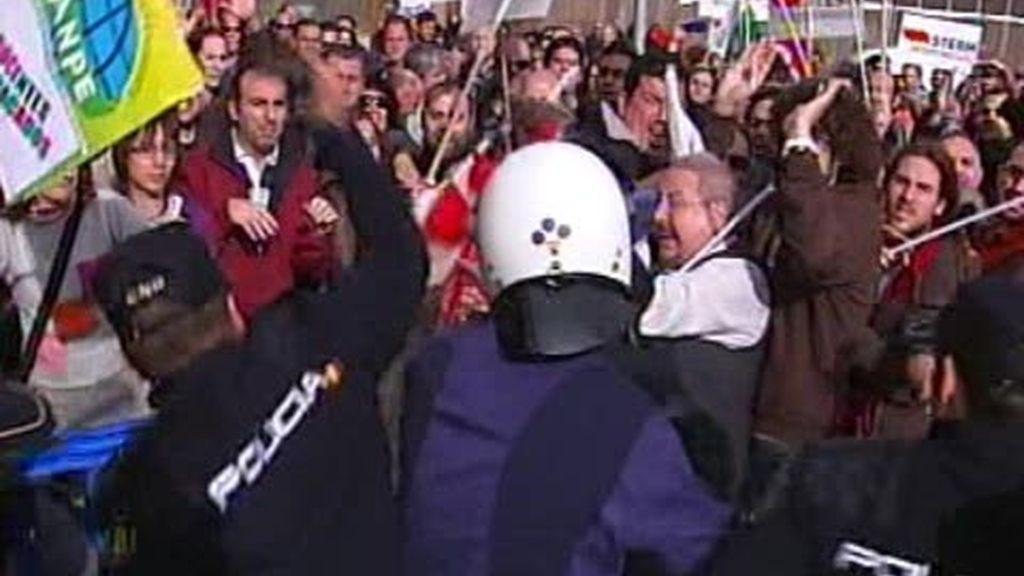 Disturbios en Murcia pro la Ley de Recortes