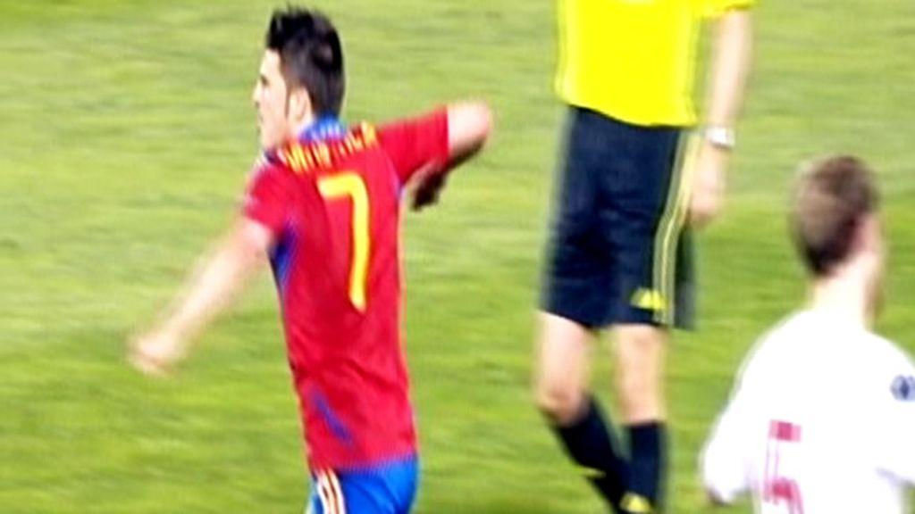 Juanma elige el gol de Villa