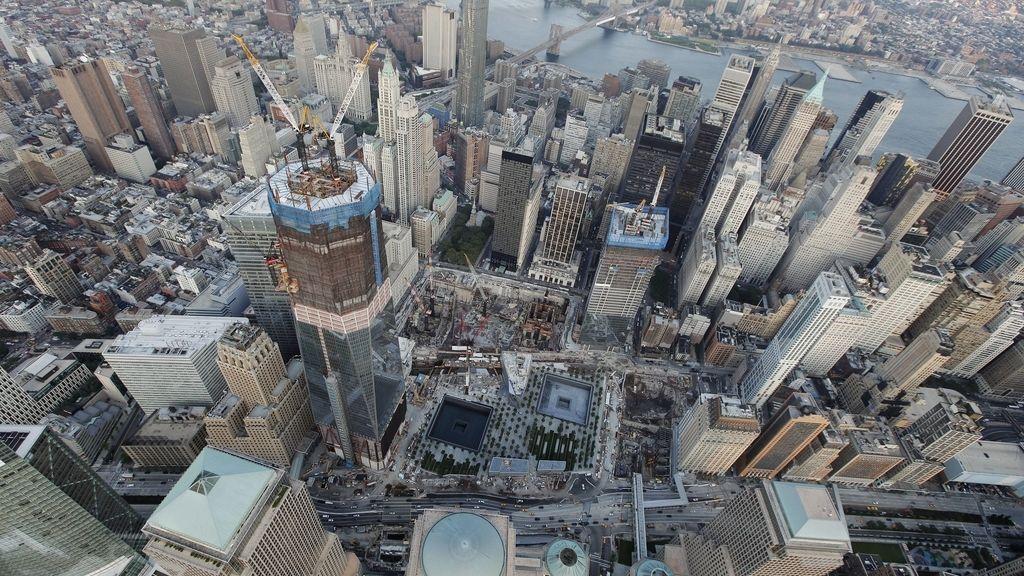 Vista de la Zona Cero de Nueva York