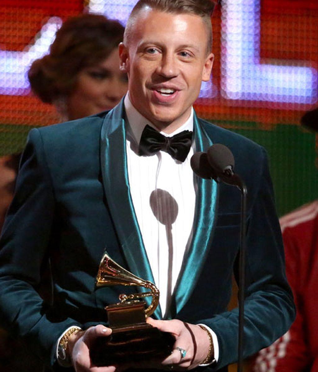Macklemore agradece uno de los premios