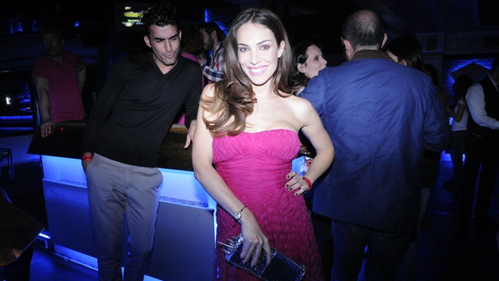 A Israel Rodríguez le encantó el espectacular vestido de Dior de Nerea Garmendia
