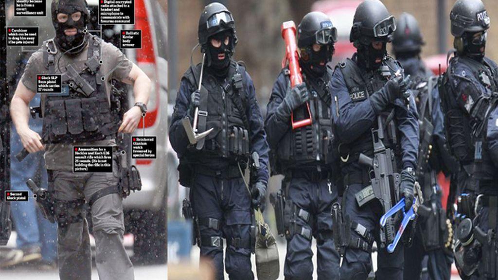Superpolicías Londres