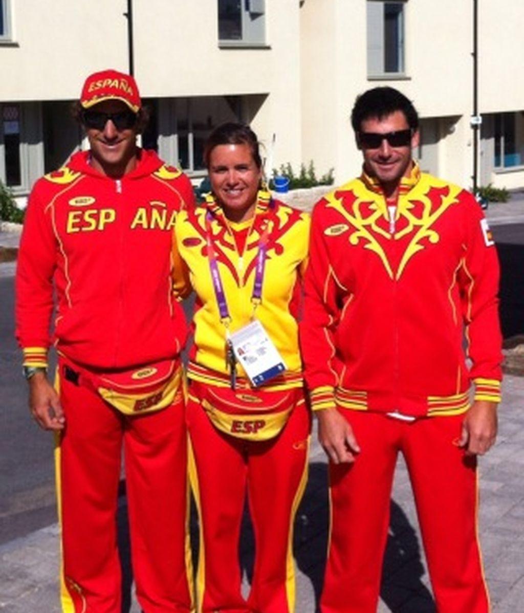 Así sienta el 'traje olímpico'