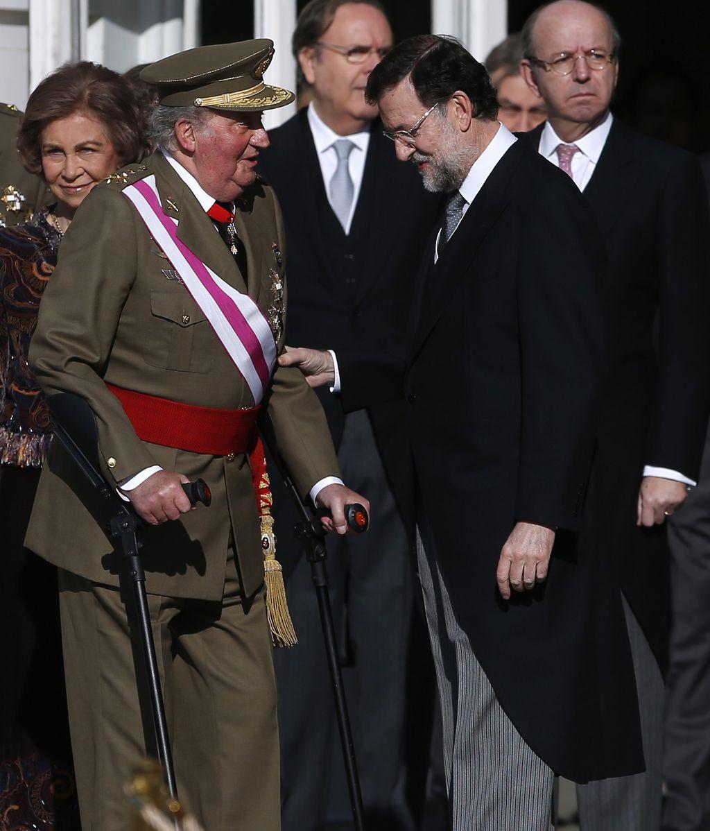 El Rey preside la Pascua Militar en la Zarzuela