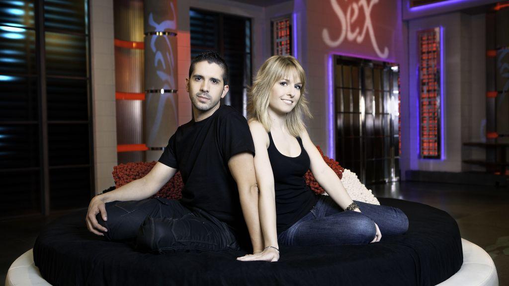 Patricia y Javier, alumnos de 'Sex Academy'