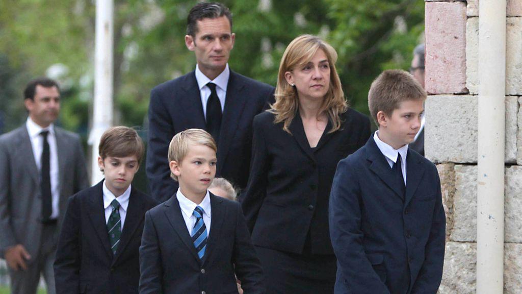 Funeral en Vitoria por el padre de Iñaki Urdangarín