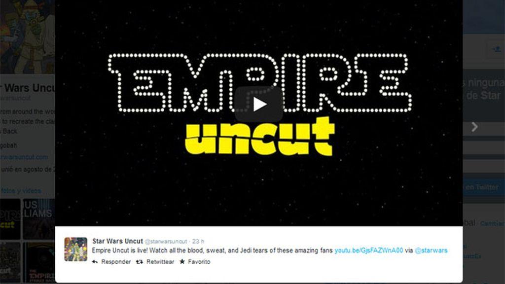 La película de Star Wars hecha por fans: Empire Strikes Back Uncut